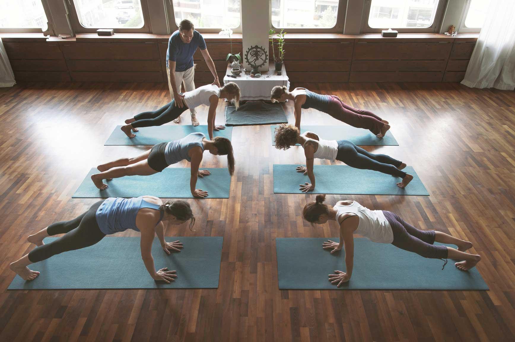 Yogalehrer Ausbildung Leipzig drop in Yoga Leipzig Anfängerkurs Element Alignment Yoga für Anfänger
